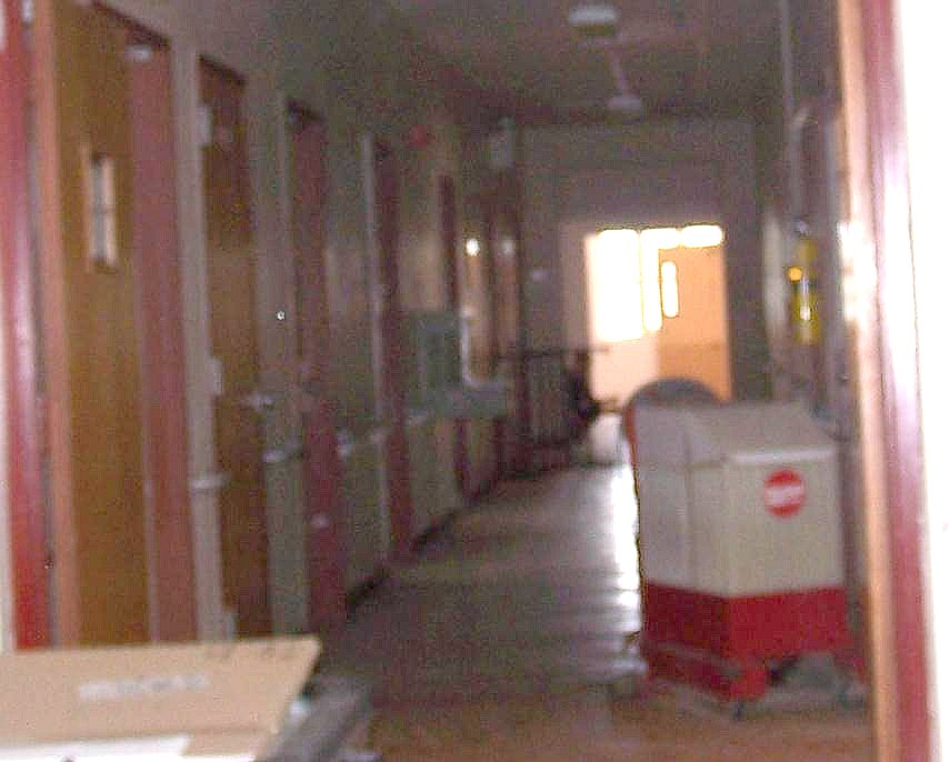Hospital Hallway Apparition, enlarged
