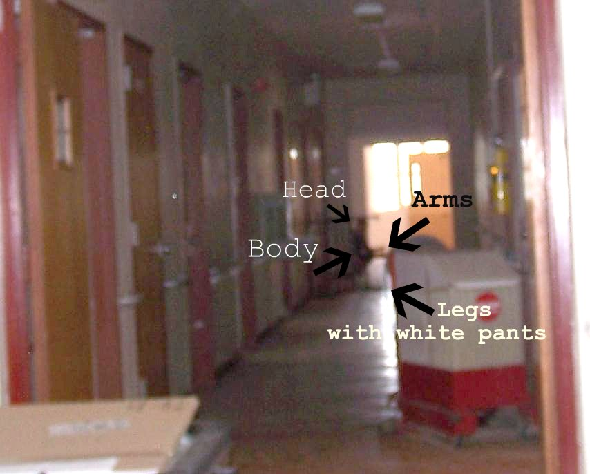 Hallway Apparition Outlined