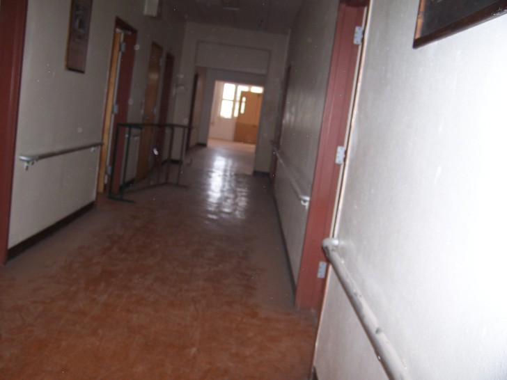 Hospital Hallway comparison photo